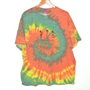 Vintage We Be Jammin Bahamas Tie Dye T Shirt 2XL